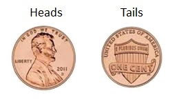 chances of heads or tails