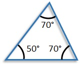 The Interior Angles of a Triangle - free Mathematics lessons and tests