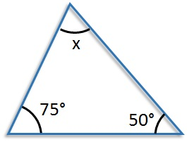 The Interior Angles Of A Triangle Free Mathematics Lessons And Tests
